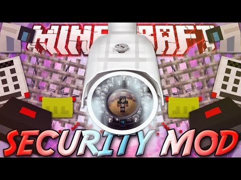 Minecraft ITA - Mod: SECURITYCRAFT - Telecamere di Sicurezza, Password, Hacking, Mine