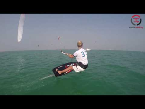 2016 IKA Kitefoil Gold Cup Finals - The Pearl - Qatar Day 2