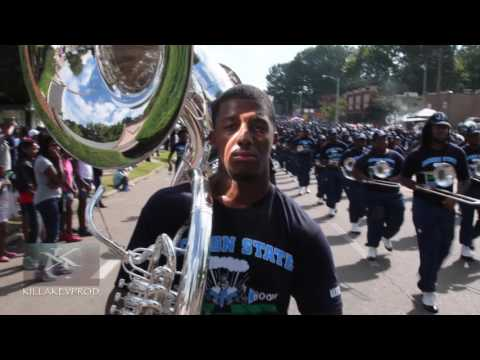 Jackson State University Marching Band - Southern Heritage Classic Parade -2016