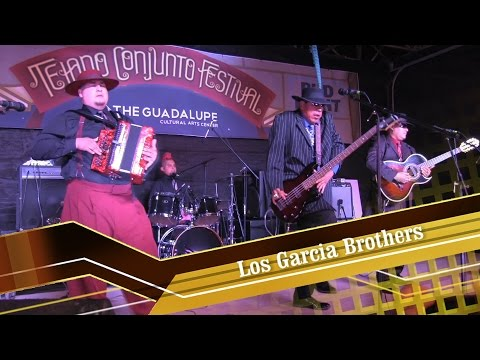 Los Garcia Brothers at The Tejano Conjunto Festival 2016