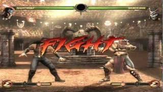 Mortal Kombat 9 - Nightwolf (Arcade Ladder) [Expert] No Matches Lost