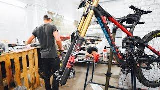 Gut vorbereitet an den START - Downhill Racing | Felix´s Welt