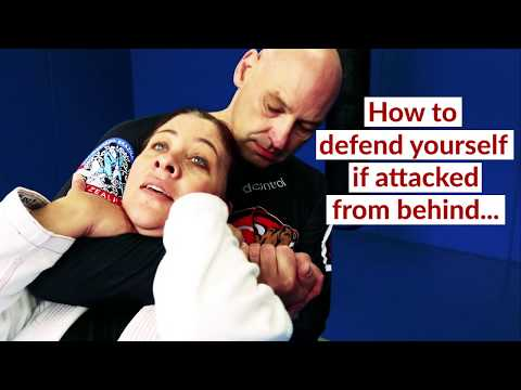 Self Defence Move for Females from Ground Control BJJ & MMA