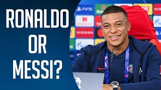 Ronaldo or Messi? ft. Rashford,De Bruyne,Mane 2021