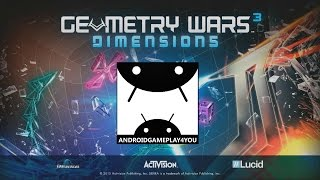 Geometry Wars 3: Dimensions Android GamePlay Trailer (1080p)