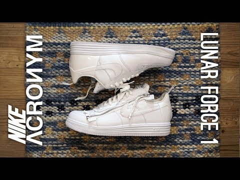 Nike x Acronym Lunar Force 1 Overview