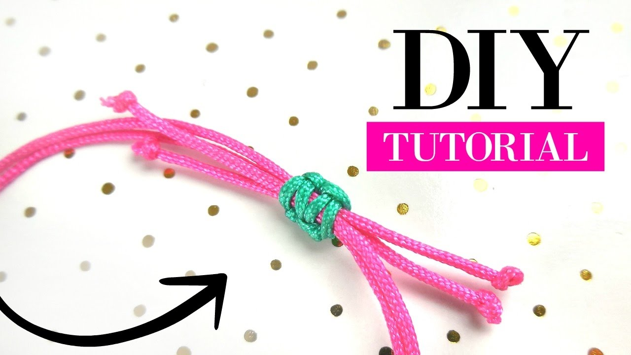 How to make a sliding knot diy video jewelry making tutorial how to make a sliding knot diy video jewelry making tutorial baditri Image collections