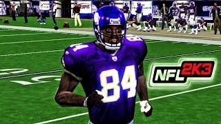 NFL 2K3 - XB | (60FPS) - Rams at Vikings | Randy Dandy Moss!