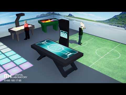 Интерактивная детская комната - ITDILAB