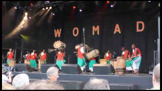 The Royal Drummers of Burundi part 1 At womad 2010 charlton park