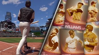 IMMORTAL Homerun Derby Part 2 Who Can Hit the Longest Homer MLB The Show 18 Diamond Dynasty