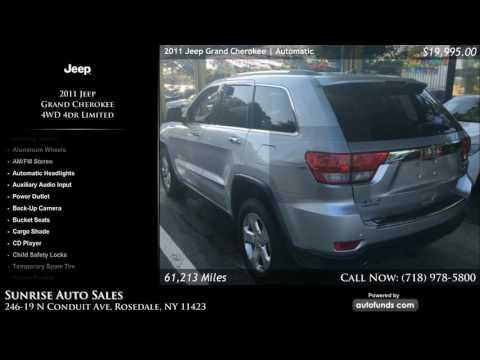 Used 2011 Jeep Grand Cherokee | Sunrise Auto Sales, Rosedale, NY