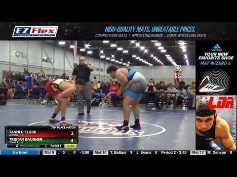 Mat 7 285 Tanner Clark Alaska  Vs Tristan Baugher Texas 1