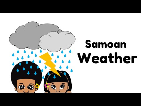 Learn about Weather in Samoan Language