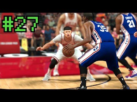 【NBA 2K17】#27 デュラントが何故か76ersにw ボコボコにしてやんよ【マイキャリア】