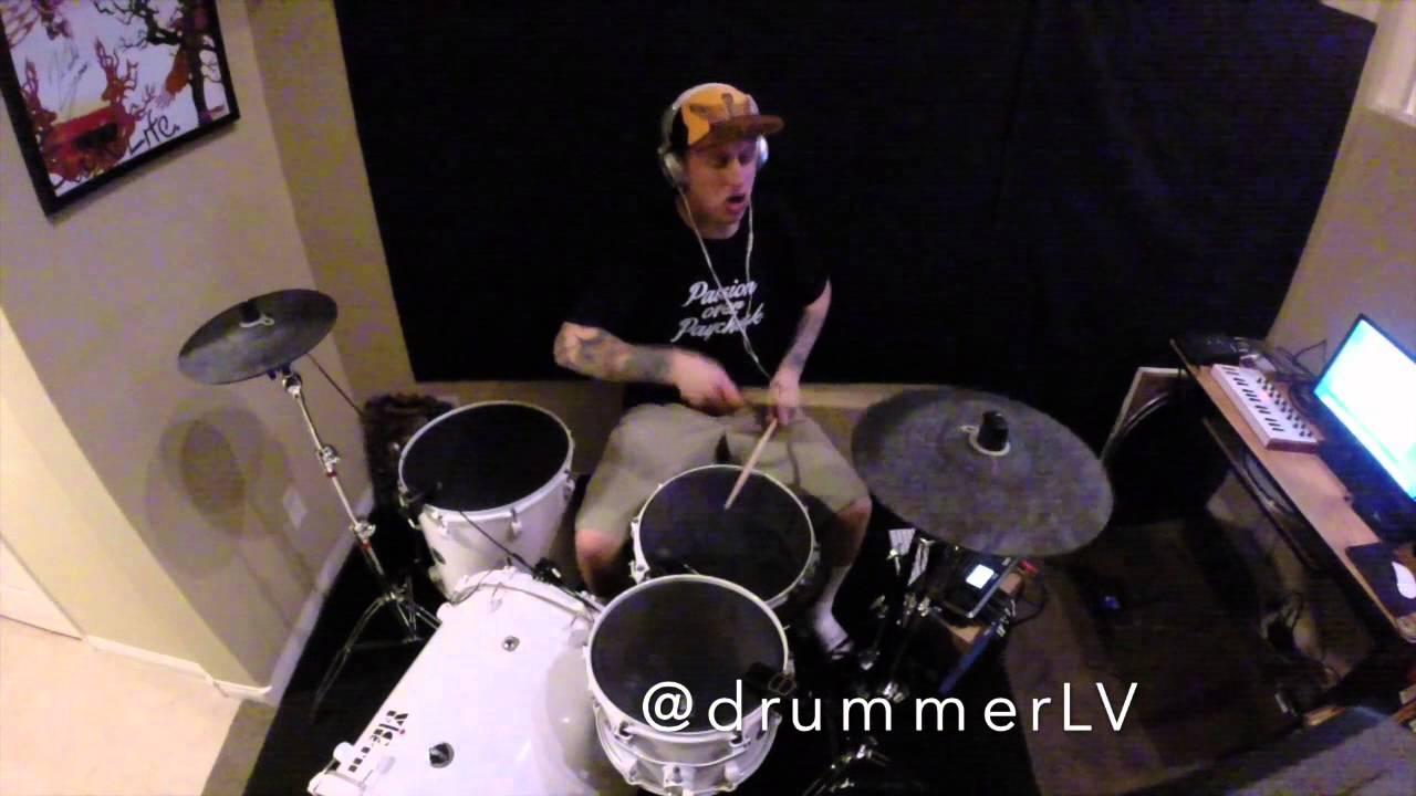 Graham snapbacks amp tattoos drum cover by dustin j youtube