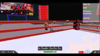 TNA Wrestling Roblox Style: James Storm vs Chris Seben (Suicide Returns)