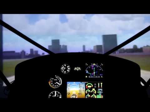 Тест драйв самолета