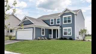 New Bradshaw Two-story Home Plan from KLM Builders - Huntington Ridge Estates - Harvard IL