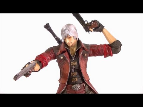 Play Arts Kai DANTE Devil May Cry Figure Review