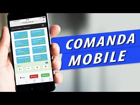 Sistema Comanda Eletrônica para Bares e Restaurantes