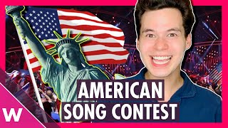 American Song Contest: Eurovision in the United States (REACTION)