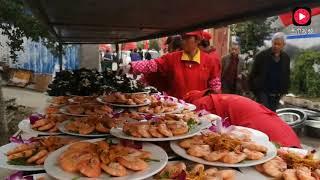 满满两大锅!看看河南获嘉农村婚礼上窜忙的人晚餐吃什么? 【卢保贵视觉影像】
