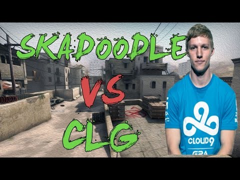 CSGO: POV Cloud9 Skadoodle vs CLG (30/14) dust2 @ ESL ESEA Pro League