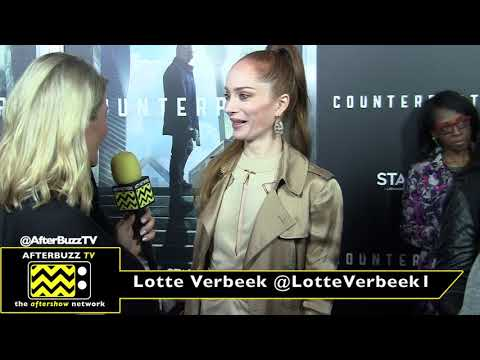 Lotte Verbeek at the 'Counterpart' Premiere 2018