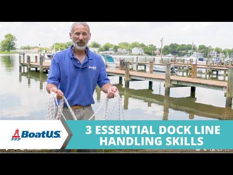 3 Essential Dock Line Handling Skills (Coiling, Tossing, Looping) | BoatUS