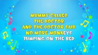 Ten Little Monkeys Sing-A-Long