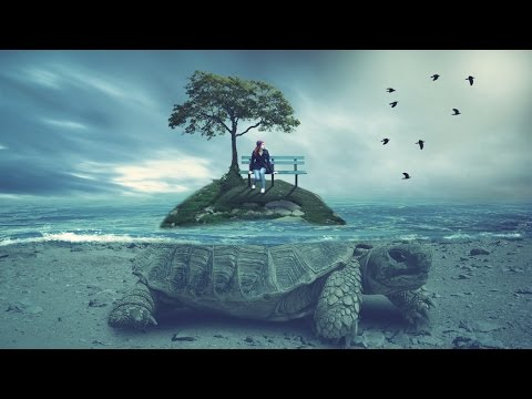 Amazing ride photo manipulation  | photoshop tutorial cc under water effect