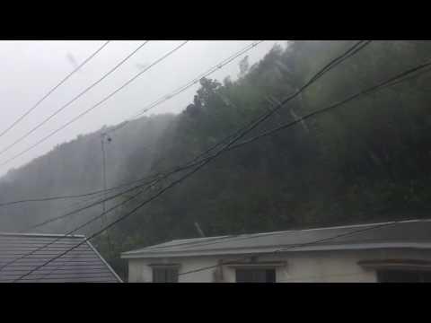 Typhoon Noru in yaguchi, mie , Japan