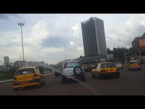Poste centrale Yaoundé Cameroun Juin 2018