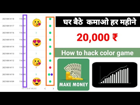 #Colour_prediction_trick How to 100% wining trick | Bozer wingo  suggestion | earn money online🔥