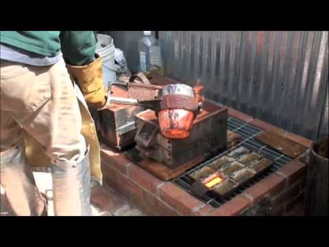 Home Foundry Iron Pour