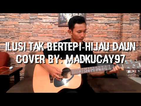 Madkucay97 Cover Ilusi Tak Bertepih-hijau Daun