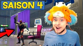 DISCOVER ALL THE NEW SAISON 4 ON FORTNITE BATTLE ROYALE 🔥 (free combat pass x5)