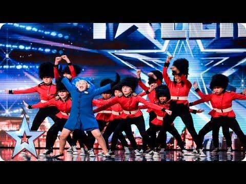 Elite Squad Royalz Have A Surprise For The Judges | Week 1 Auditions | Britain's Got Talent 2016