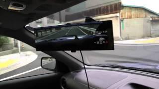 インプレッサでドライブコムテックの動作面を撮影 thumbnail