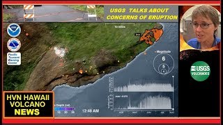 HAWAII ERUPTION Latest USGS CONCERNS on Kilauea Volcano (8/15/2018)