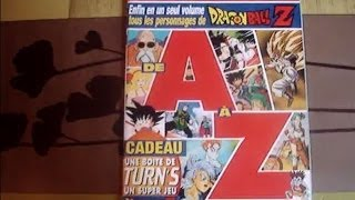 D.MANGA MAGAZINE HS N°29 ARTBOOK ENCYCLOPEDIE PERSONNAGES  DRAGON BALL Z DE A à Z.