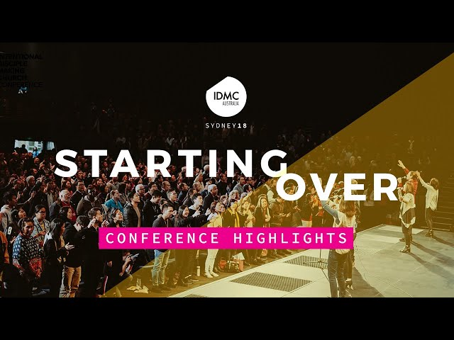 IDMC Conference 2018 (Sydney): Starting Over – Highlights