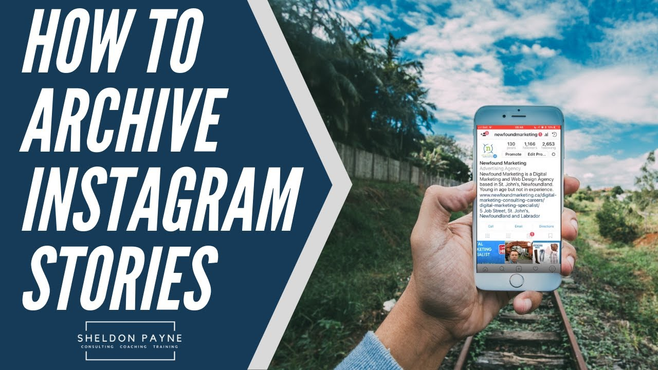How to Archive Instagram Stories