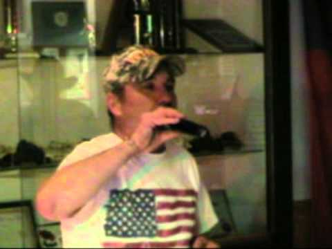 George singing stars and stripes and eagles fly.mpg