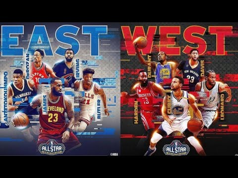 NBA ALL-STAR 2017 Starters Best Plays
