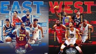 nba all star 2017 starters best plays