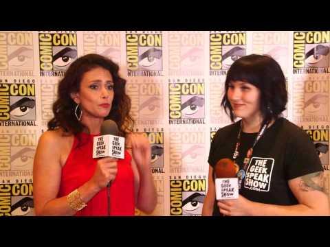 SDCC 2017  MTVs Teen Wolf  Melissa Ponzio