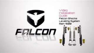 Falcon Shocks Install: Ram 1500 Leveling System