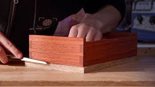 Mitring and Fitting the Plinth | Dovetail Box Student Series #16 | Free Online Woodworking School